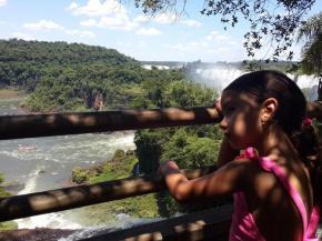 Traveling Iguazu Falls with YoungKids