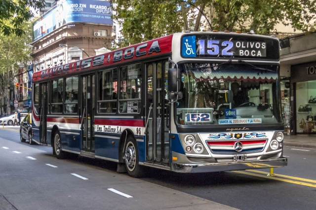 152 Line Colectivo La Boca